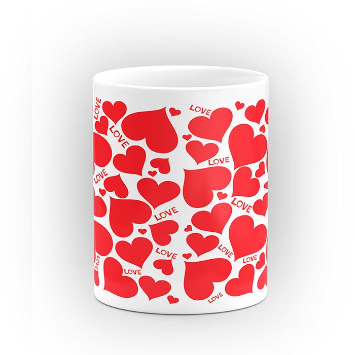 "Чаша ""Love"" - подарък за Свети Валентин"