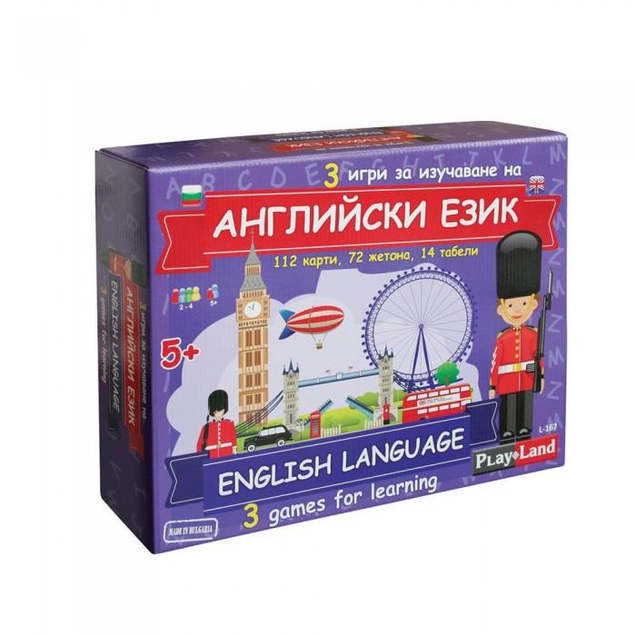 Игра АНГЛИЙСКИ ЗА ДЕЦА 3 в 1